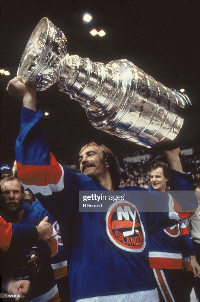 Nystrom Lifts The Stanley Cup : News Photo