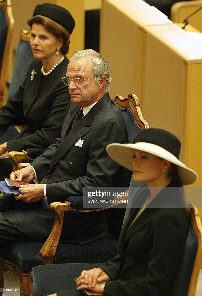 Swedish King Carl Gustaf, who celebrated : News Photo