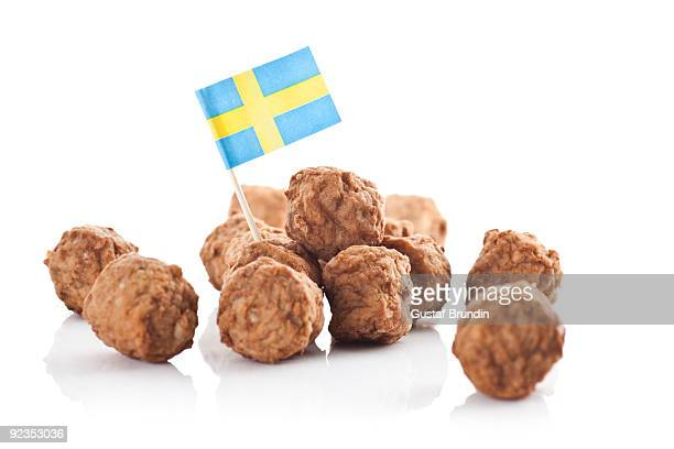swedish meatballs - swedish culture stock pictures, royalty-free photos & images