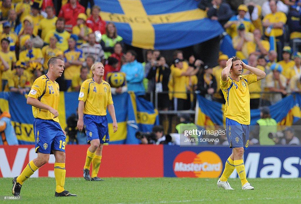 Sweden v Spain - Group D Euro2008
