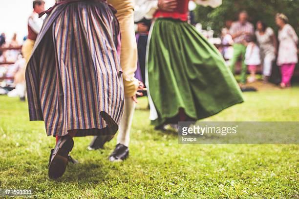 Schwedische midsummer Feier