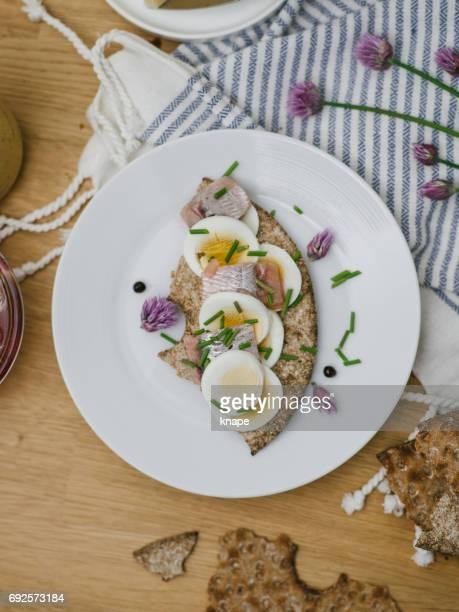 swedish midsummer food svensk midsommar mat - midsummer sweden stock pictures, royalty-free photos & images