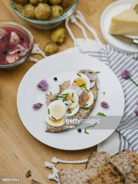 Swedish Midsummer food Svensk midsommar mat