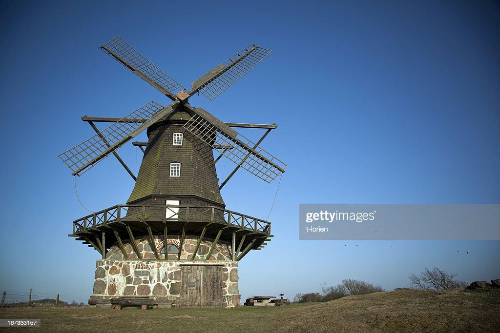 Swedish Mill : Stock Photo