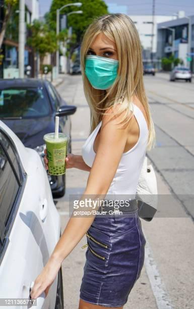 Swedish Model Ella Rose is seen on April 29, 2020 in Los Angeles, California.