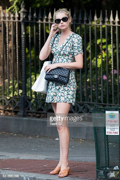 Swedish model Elsa Hosk seen on June 20 2016 in New York City