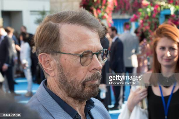 Swedish musician Björn Ulvaeus attends the Mamma Mia Here we go again musical world premiere London July 16th 2018