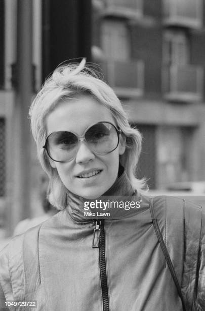 Swedish musician, singer, songwriter, actress, and author Agnetha Faltskog, UK, 6th November 1979.