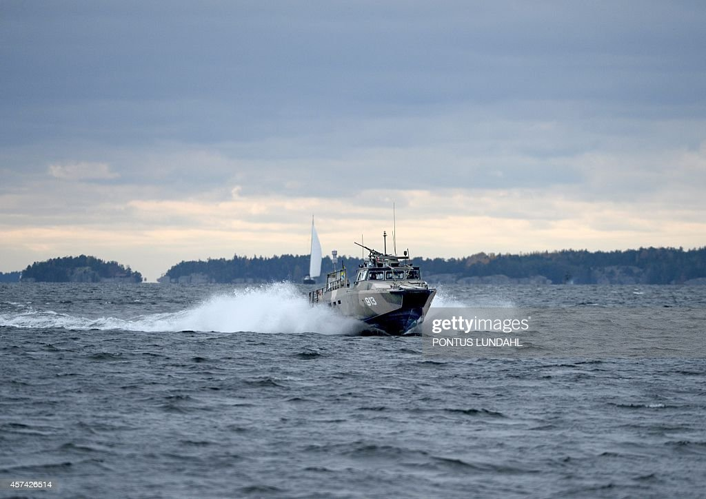 SWEDEN-MILITARY-SUBMARINE-RUSSIA : News Photo