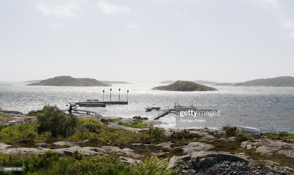 Swedish ocean view /// Ausblick auf's Meer : Stock Photo