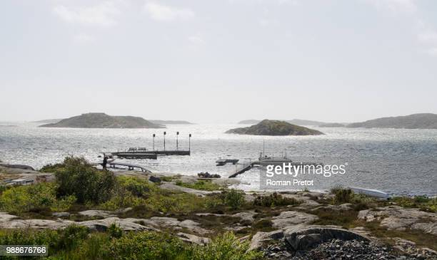 swedish ocean view /// ausblick auf's meer - roman pretot stock pictures, royalty-free photos & images