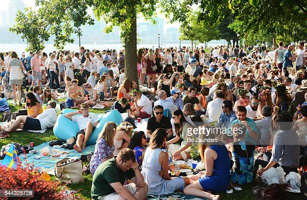Swedish picnic in Battery Park