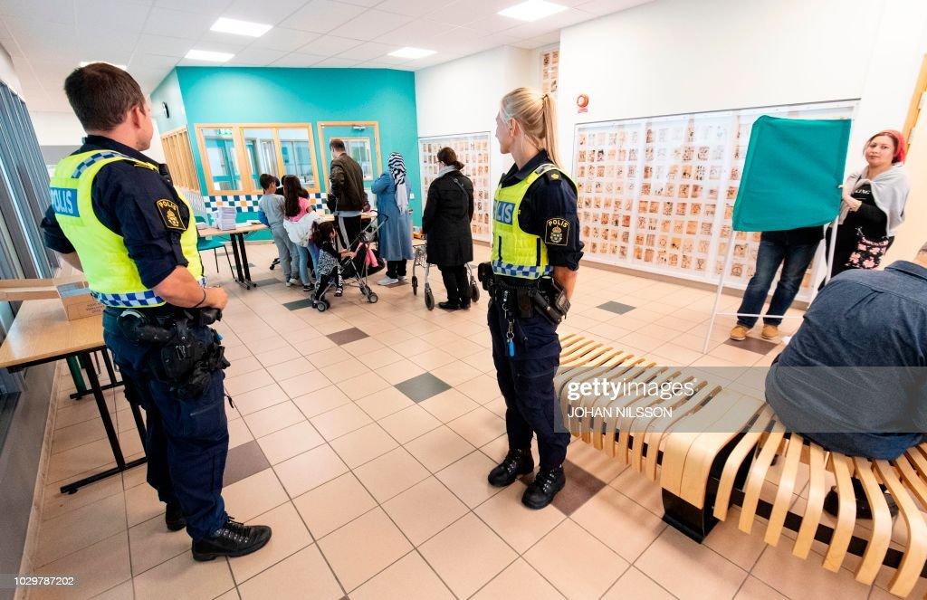 Znalezione obrazy dla zapytania sweden elections