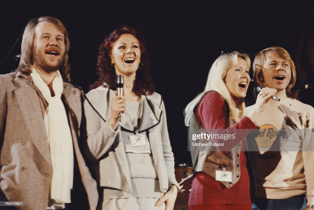 Abba At UNICEF Concert : News Photo
