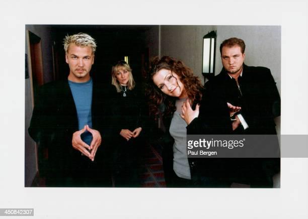 Swedish pop group Ace of Base circa 19952005