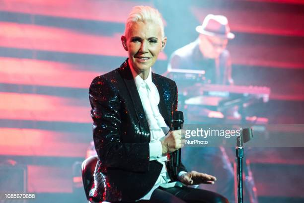 Swedish pop rock duo Roxette perform at Arcimboldi theatre in Milan on May 10 2015 Roxette are a Swedish pop rock duo consisting of Marie Fredriksson...
