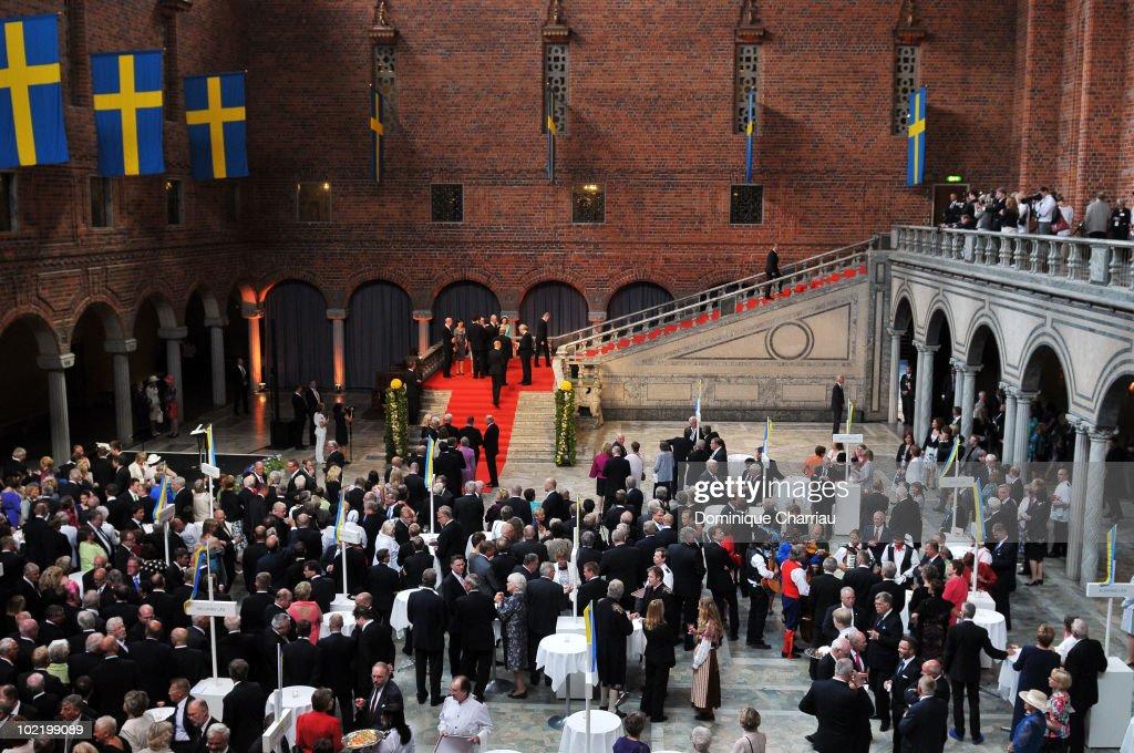 Crown Princess Victoria & Daniel Westling: Pre Wedding Reception - Arrivals