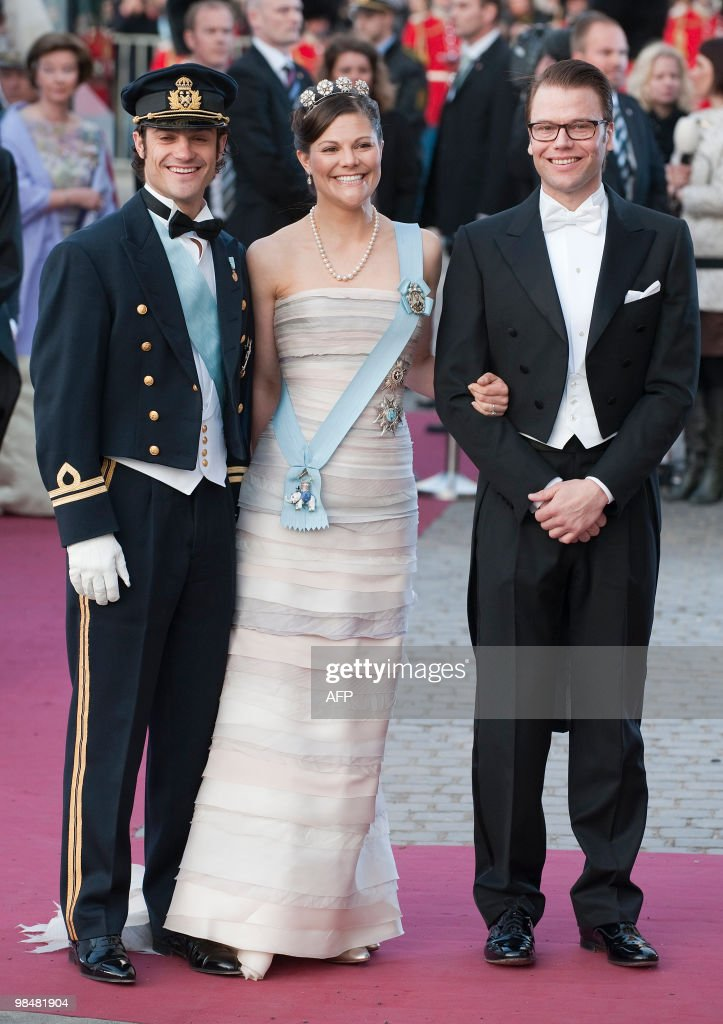 Swedish Prince Carl Philip (L), Crown Pr : News Photo