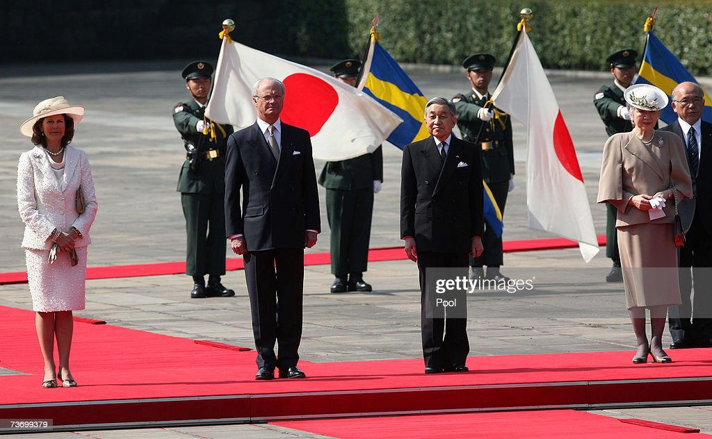 Swedish Royals Visit Japan : News Photo