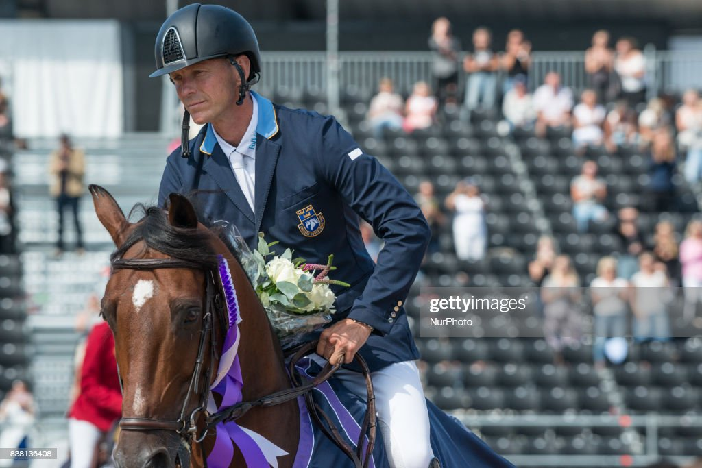 Qualifying Jumping Competition at 2017 FEI European Championships in Gothenburg : News Photo