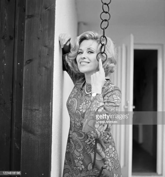 Swedish singer and actress Bibi Johns, Germany, 1960s.