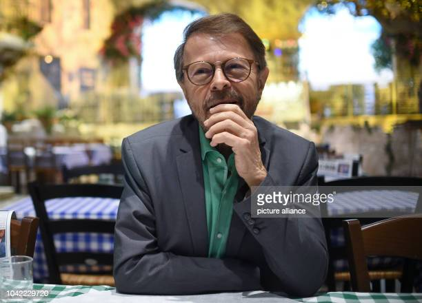 Swedish singer Björn Ulvaeus a former member of the famous musical group ABBA speaks during an interview with the German news agency Deutsche...