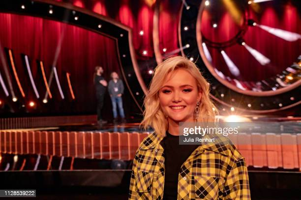 Swedish singer Malou Prytz advances to the final in the second heat of Melodifestivalen Sweden's competition to select the country's representative...