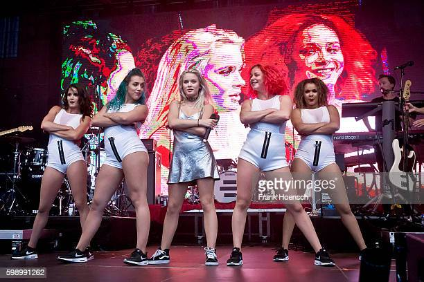 Swedish singer Zara Larsson performs live during the Energy Music Tour at the Kulturbrauerei on September 3 2016 in Berlin Germany