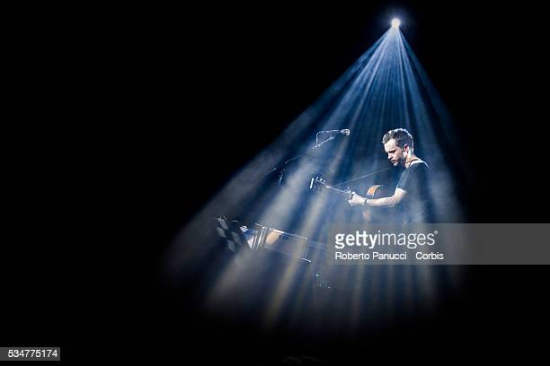 Swedish singersongwriter The Tallest Man on Earth performs in concert at Quirinetta Theatre on February 13 2016 in Rome Italy