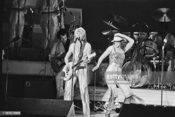 Swedish songwriter and musician Björn Ulvaeus and NorwegianSwedish singer songwriter and environmentalist AnniFrid Lyngstad of pop group ABBA...