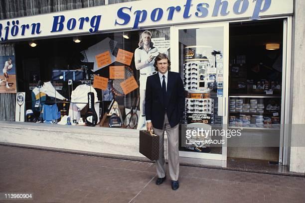 Swedish Tennis Legend Bjorn Borg In Monaco On March 22 1983Swedish tennis legend Bjorn Borg in Monaco