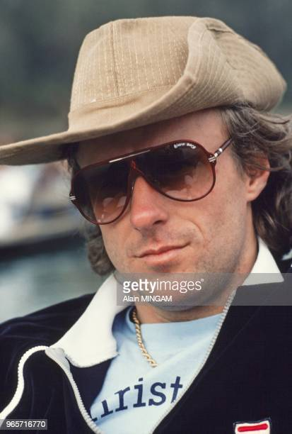 Swedish tennis legend Bjorn Borg with his wife tennis player Mariana Simionescu in Nepal. January 29, 1983.