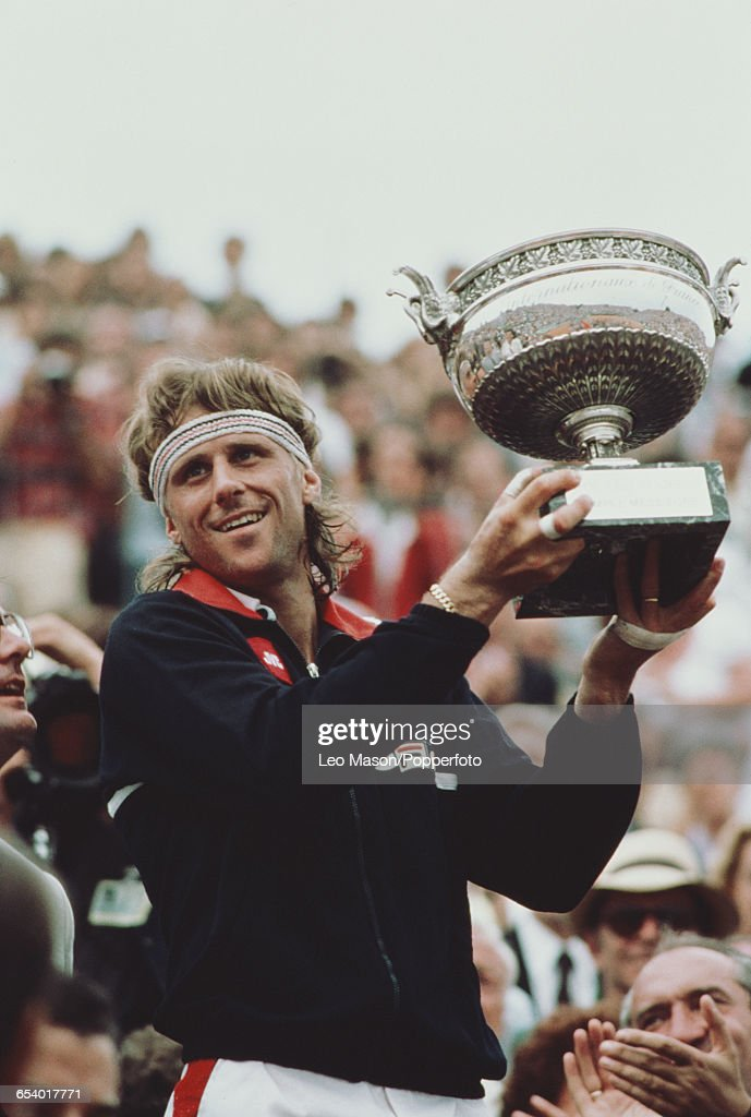 Bjorn Borg Wins 1981 French Open : News Photo
