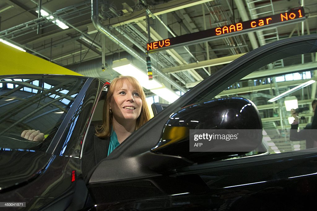 Sweden Auto Company Saab News Photo