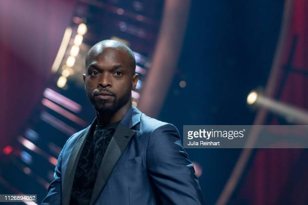 Swedish TV/radio personality and comedian Kodjo Akolor is presented to the press as one of four hosts ahead of the first heat of Melodifestivalen...