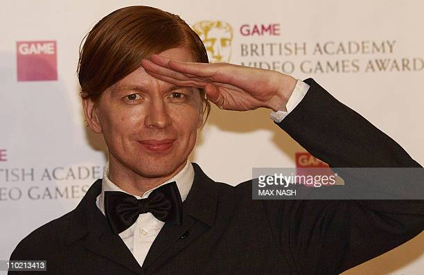 Swedish Video Game designer Battle Field Bad Company 2 Olaf Stromquist arrives at the British Academy Video Games Awards 2011 in Central London on...