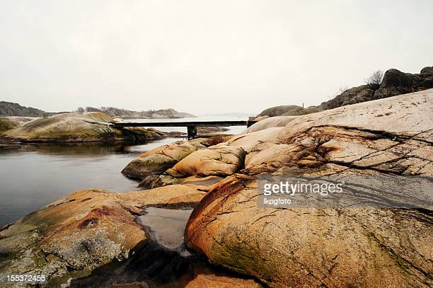 swedish west coast - waterkant stockfoto's en -beelden