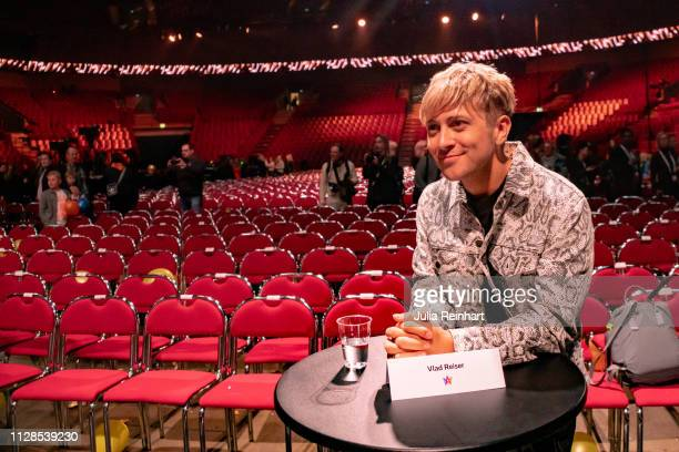 Swedish YouTuber Vlad Reiser advances to the semifinal in the second heat of Melodifestivalen Sweden's competition to select the country's...