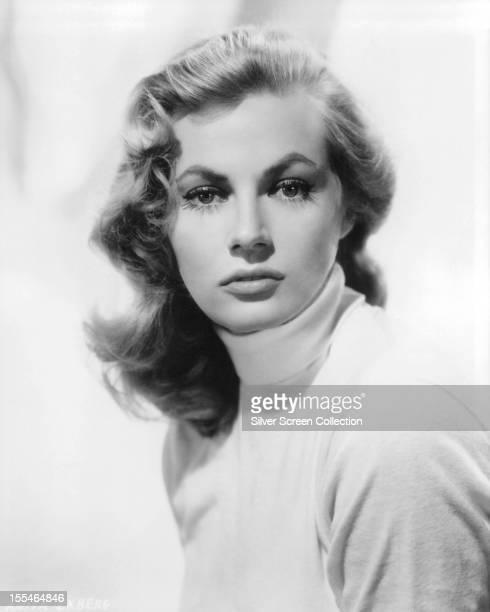 SwedishAmerican actress Anita Ekberg circa 1955