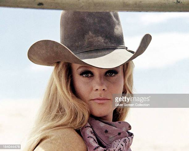 SwedishAmerican actress AnnMargret as Mrs Lowe in 'The Train Robbers' directed by Burt Kennedy 1973
