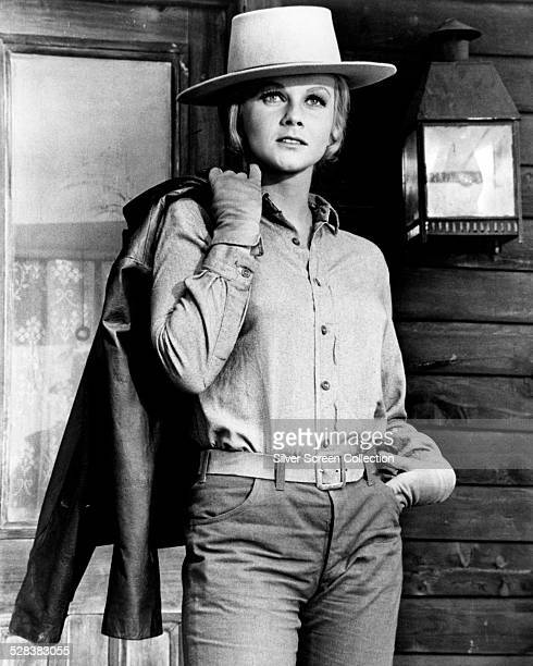 SwedishAmerican actress AnnMargret in a promotional still for 'The Train Robbers' directed by Burt Kennedy 1973