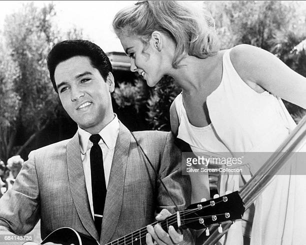 SwedishAmerican actress AnnMargret with Elvis Presley in the musical film 'Viva Las Vegas' directed by George Sidney 1964