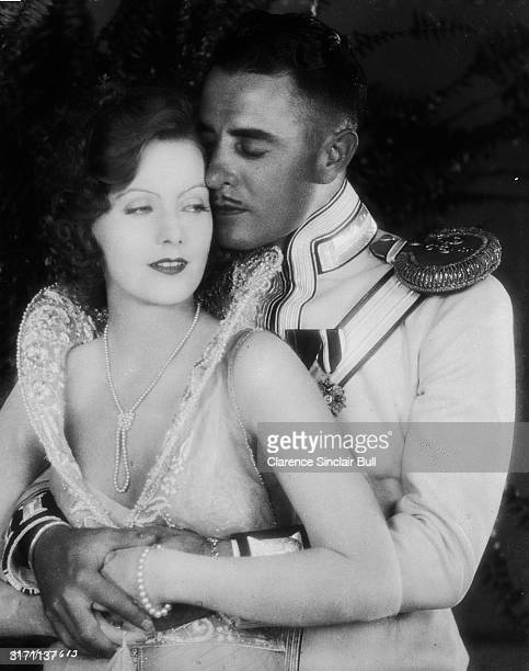 SwedishAmerican actress Greta Garbo plays Anna Karenina in the romantic drama 'Love' directed by Edmund Goulding She embraces her onscreen lover...