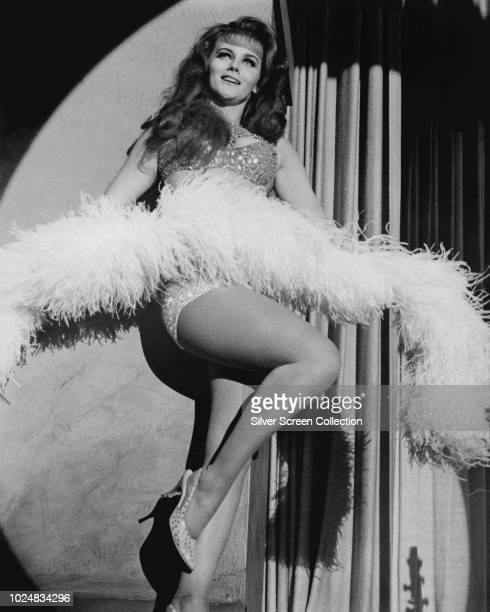 Swedishborn actress AnnMargret as Kelly Olsson in a scene from the film 'The Swinger' 1966