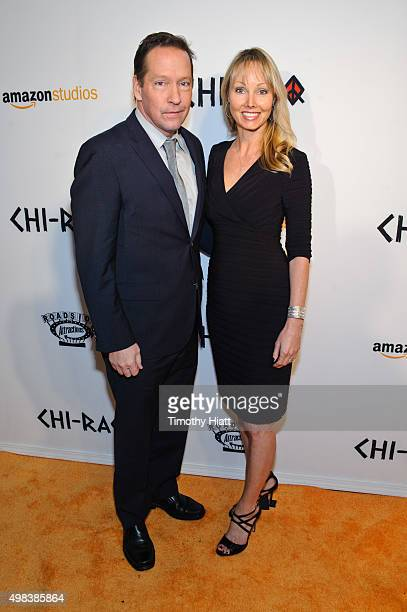 Sweeney and Ashley Vachon attend the world premiere of ChiRaq at The Chicago Theatre on November 22 2015 in Chicago Illinois
