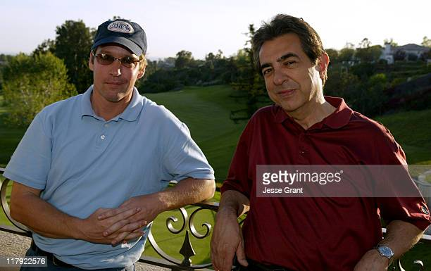Sweeney and Joe Mantegna during The Autism Coalition's First Annual L.A. Celebrity Golf Challenge and Auction at Riviera Country Club in Pacific...