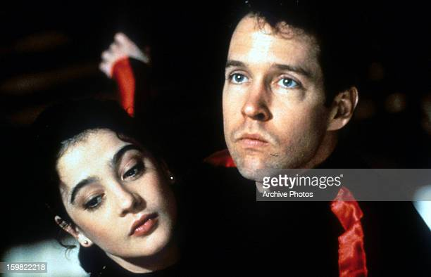 DB Sweeney and Moira Kelly in a scene from the film 'The Cutting Edge' 1992