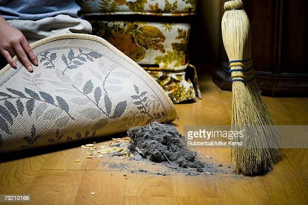 Sweeping dirt under rug