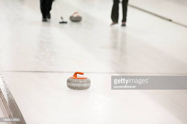 Sweeping the Curling Stone