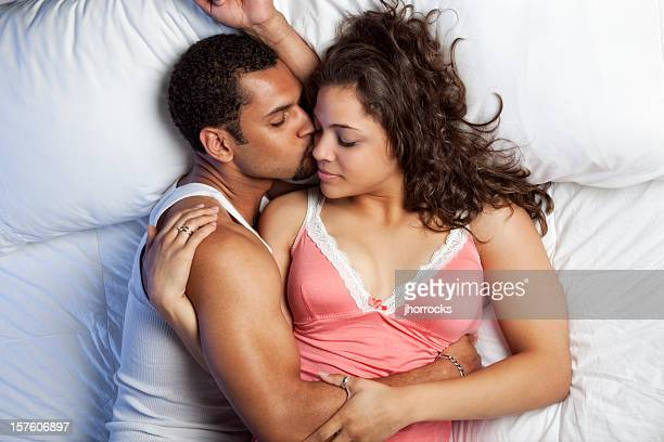 sweet affection - man love stock photos and pictures